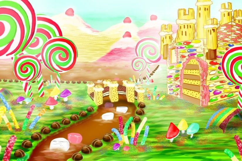 candyland wallpaper candyland wallpaper