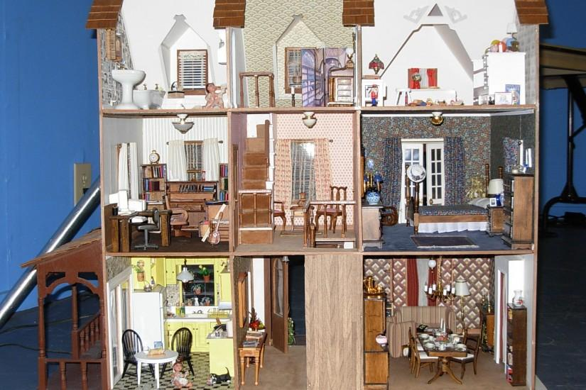 dollhouse wallpaper victorian - weddingdressin.com