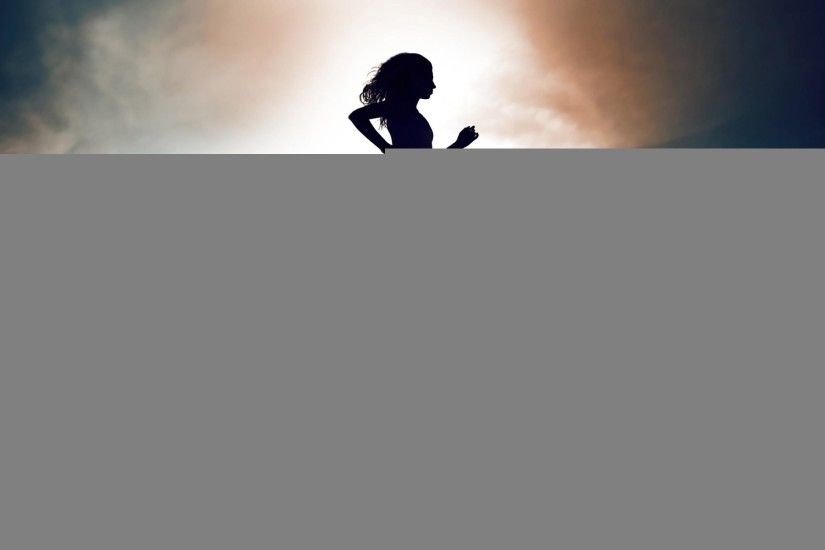 Wallpapers Girl Nike New Balance Sports Girls Silhouette Jog Reflection  Running Free Hd 2560x1600 | #160141 #girl ...
