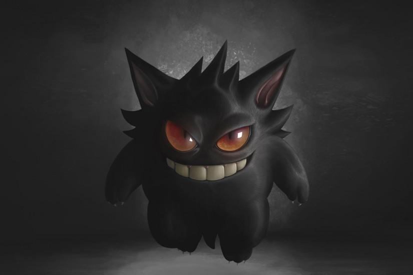 gengar wallpaper 1920x1080 macbook