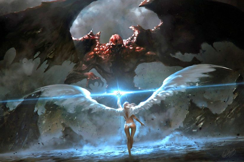 Angel Fighting Demons Wallpapers, Angel Fighting Demons Backgrounds, Angel  Fighting Demons Images, Free