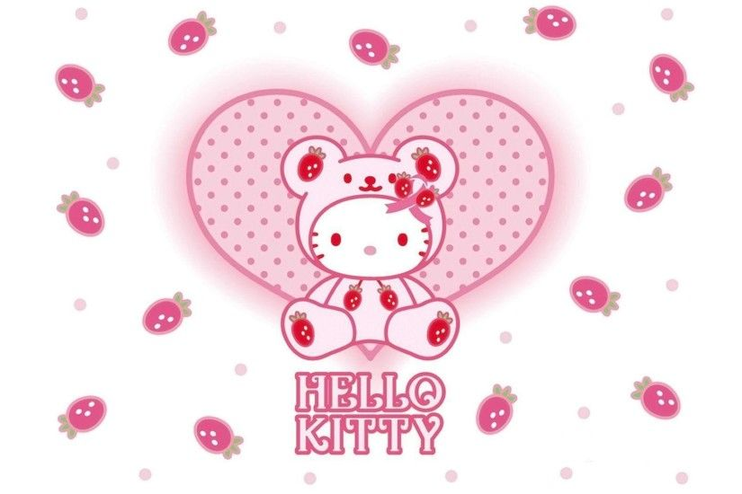 Baby Pink Hello Kitty Wallpapers