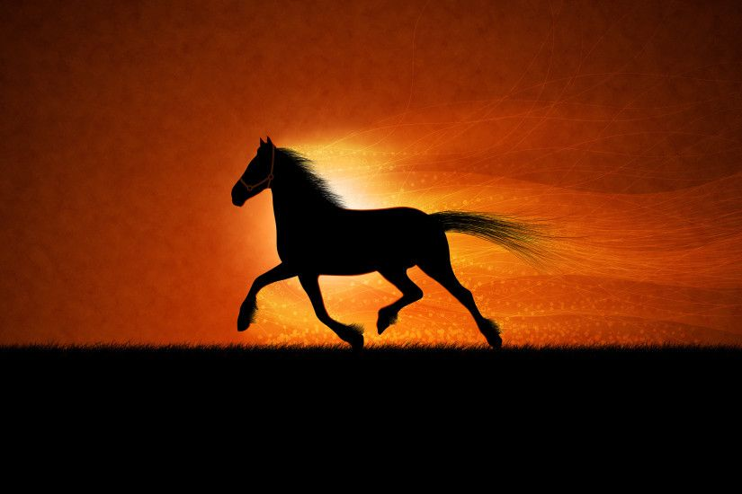 Running horse Wallpapers HD Wallpapers
