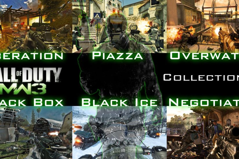 ... Call of Duty MW3 Collection 1 Wallpaper by X-NEON-98-X