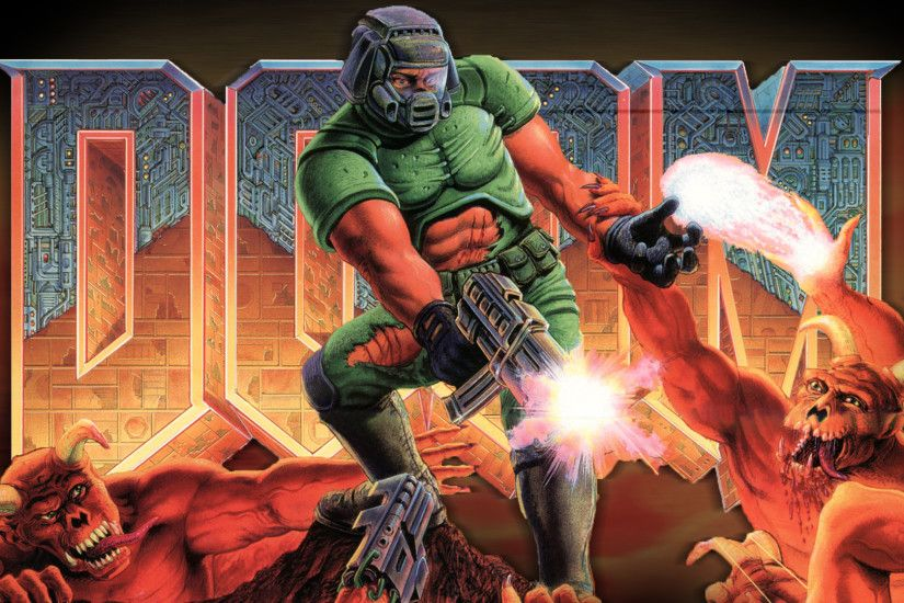 2013-12-Doom-Monsters-Game-Wallpaper