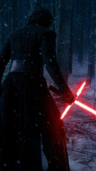 ... Kylo-Ren-lightsaber-mobile-wallpaper ...