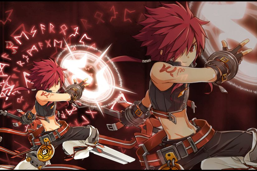 ... Elsword Rune Slayer Wallpaper By D.S. by DelayedShot