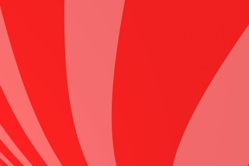 Red moving curves - simple HD animated background #04