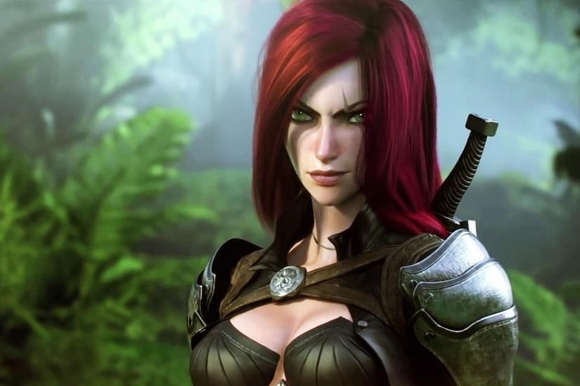 League Of Legends Katarina Face Wallpaper Free HD Desktop and Mobile  Wallpaper