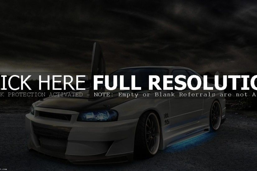 AMAZING NISSAN SKYLINE GTR R34 WALLPAPERS