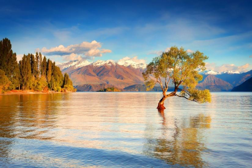 Lake wanaka new zealand Wallpapers Pictures Photos Images. Â«