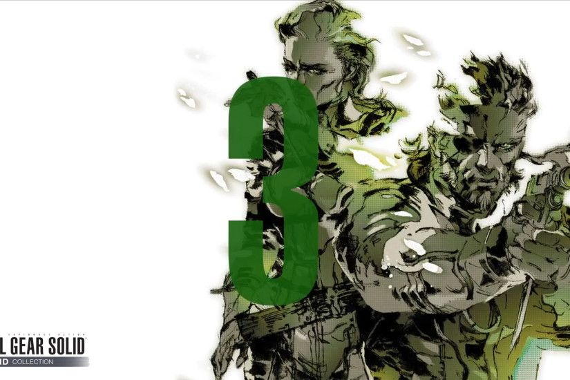 ... Metal Gear Solid HD COLLECTION (Unique) MGS3 by Outer-Heaven1974