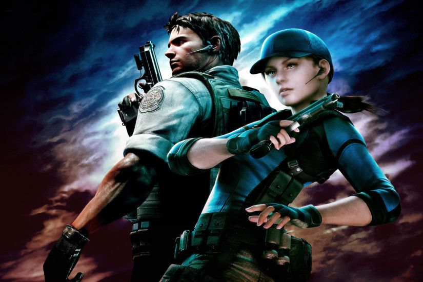 previous resident evil 5 wallpaper. Chris Redfield And Jill Valentine