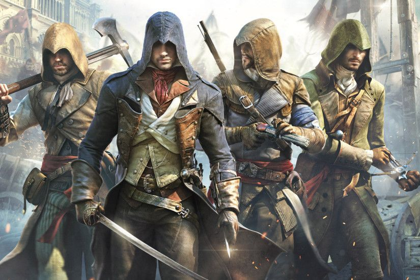 Assassin's Creed heroes wallpaper