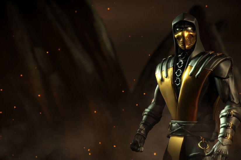 ... Wallpapers Kold War Scorpion Mortal Kombat X Mobile » Mortal Kombat  games .