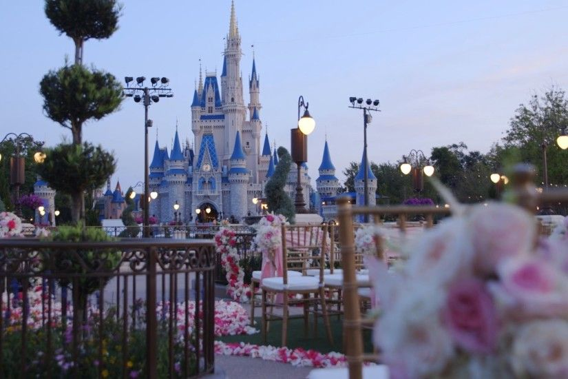 Get married in the Magic Kingdom with Disney's Fairy Tale Weddings - YouTube