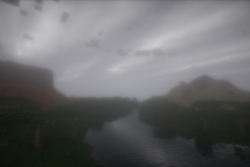 Real World Generation Mod With The New SEUS Shaders Makes Real Background  Material