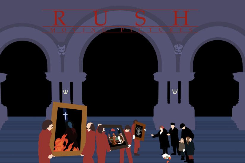 New Rush Wallpaper: Moving Pictures ...