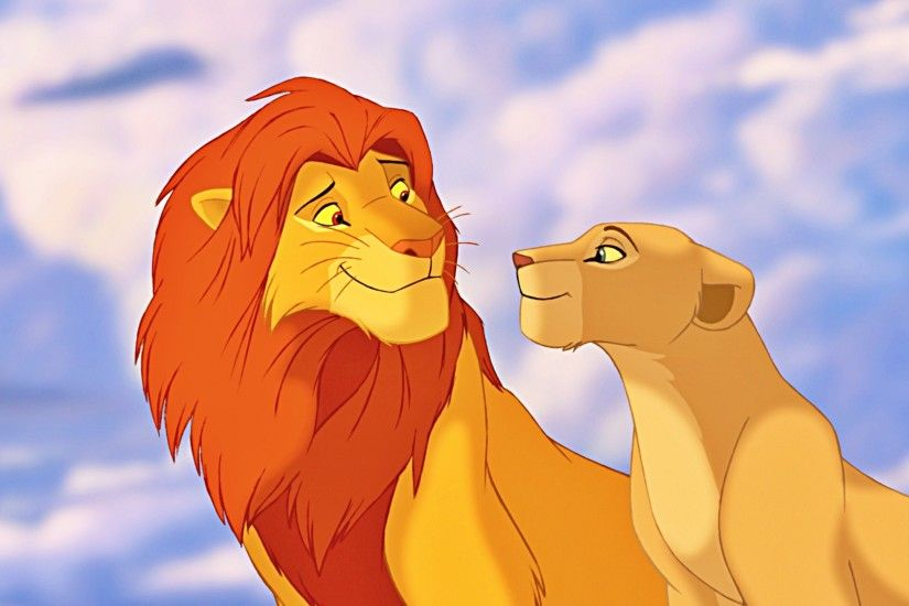 Baby Simba and Nala Wallpaper by #LionKingPride on deviantART .