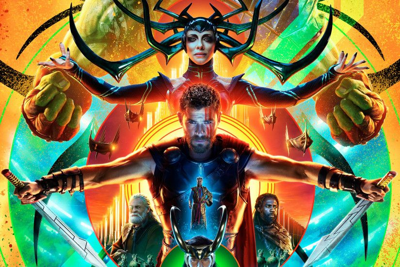 Movie - Thor: Ragnarok Cate Blanchett Chris Hemsworth Thor Loki Wallpaper
