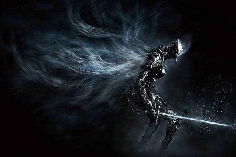 Dark Souls III – Wallpaper Full HD – Cavaleiro similar ao Artorias .