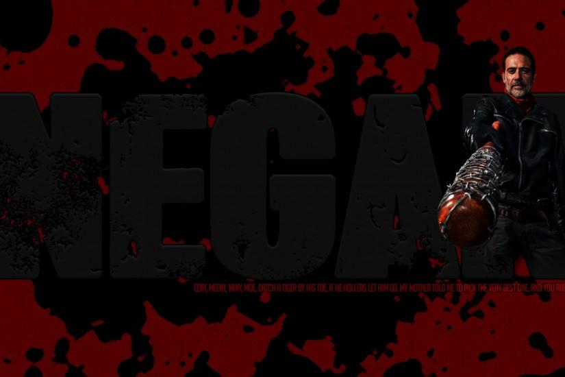 ... Negan (The Walking Dead) 1080p wallpaper graphic by Chrisuki