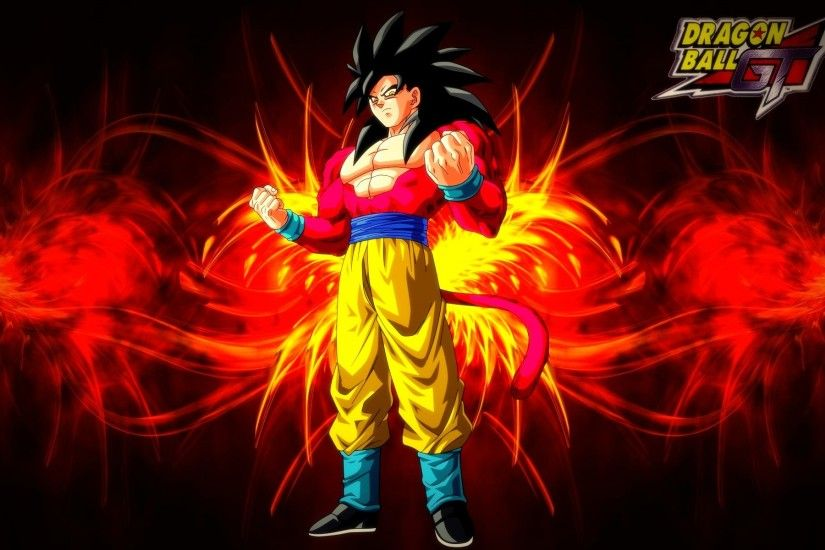 Dragon Ball GT, #Dragon Ball, #Super Saiyan 4, #Son Goku | Wallpaper .