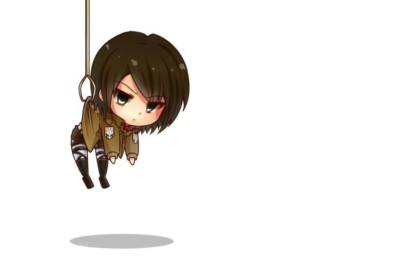 1920x1080 photo of Mikasa Ackerman Attack On Titan anime