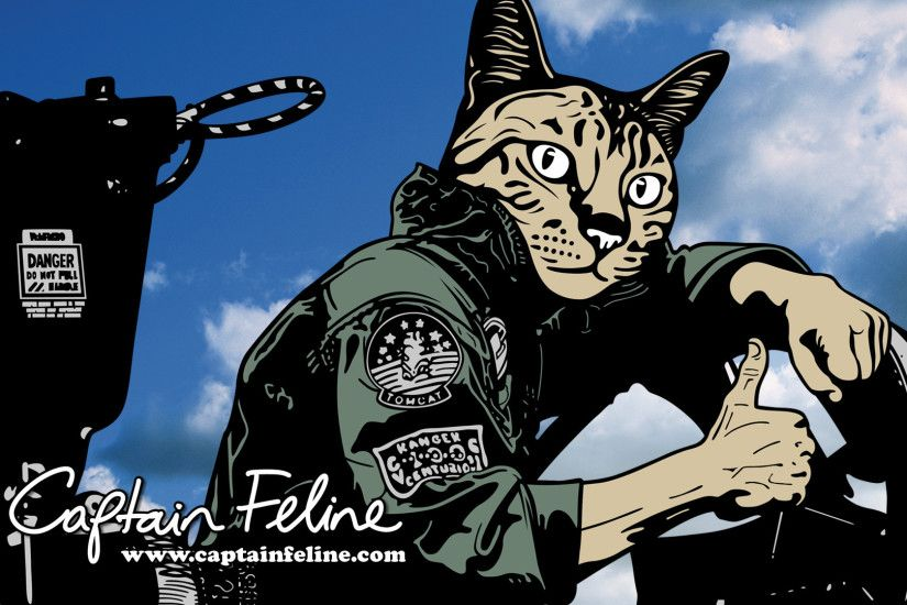 """Tom Cat"" Wallpaper. """