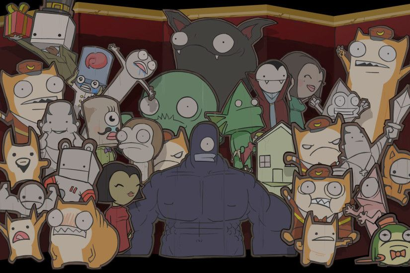 Image - BattleBlock Theater Background All the Puppets.jpg | Steam Trading  Cards Wiki | FANDOM powered by Wikia