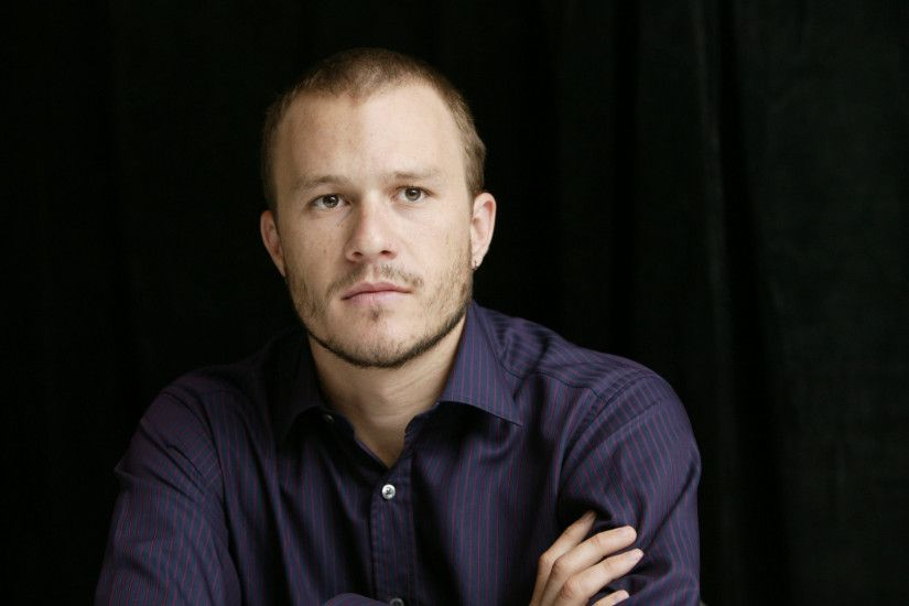 1920x1080 Wallpaper heath ledger, man, actor, shirt