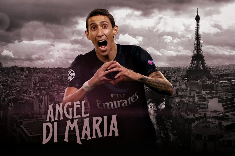 ... Angel Di Maria Wallpaper - Design by MhmdAo
