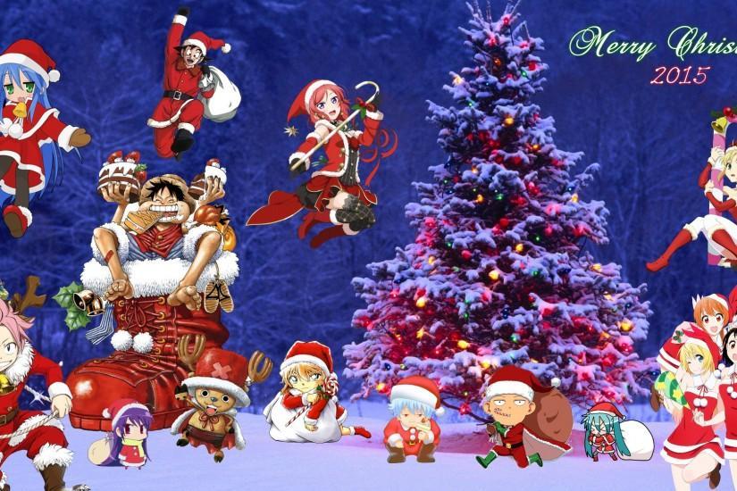 Christmas Wallpaper 4k.Anime Christmas Wallpaper Download Free Awesome Hd