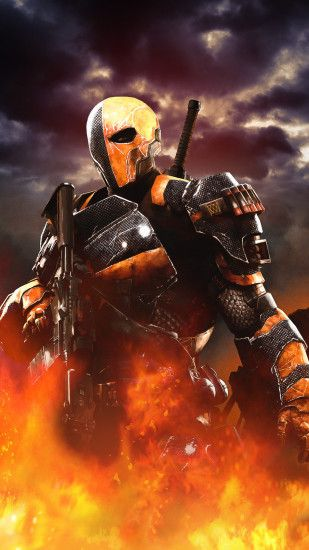 Deathstroke - Made it for my Galaxy s5 1080 x 1920