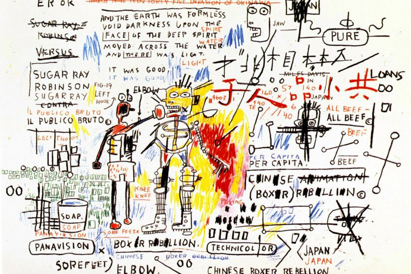 Boxer Rebellion, 1983 - Jean-Michel Basquiat