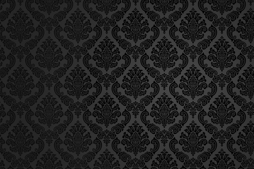 black pattern fancy background wallpaper #10910