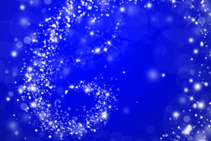star swirl on blue christmas background image
