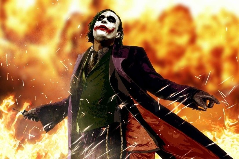 anime, Heath Ledger, Movies, Joker, Batman, The Dark Knight Wallpapers HD /  Desktop and Mobile Backgrounds