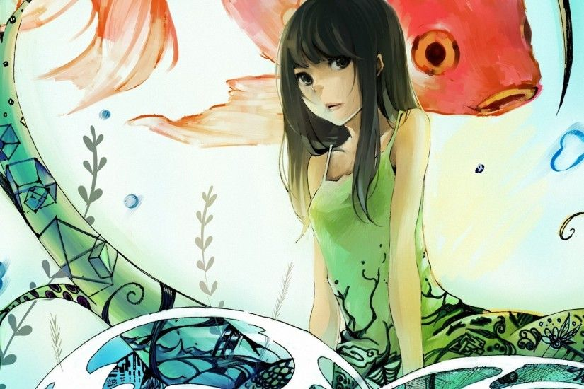abstract anime girls HD wallpapers