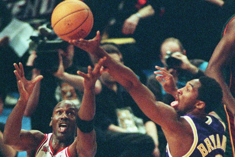 This Day In NBA History: Kobe Bryant vs. Michael Jordan and the 1998  All-Star game | NBA | Sporting News