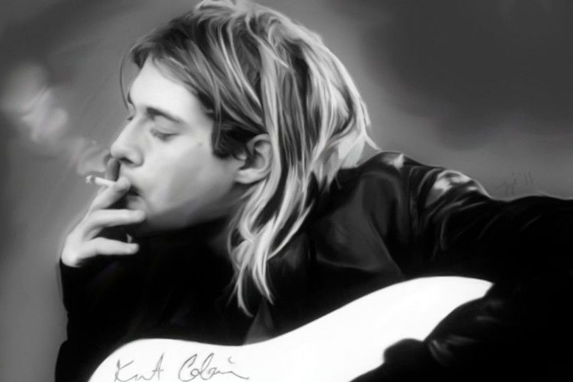 Kurt Cobain HD Wallpaper
