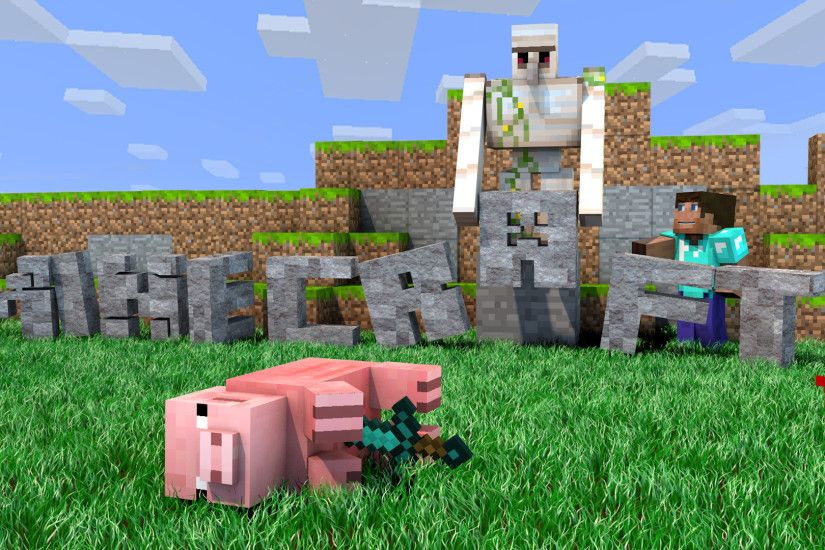 ... Minecraft wallpaper - Murdered pig [1920x1080] by DezTizzy