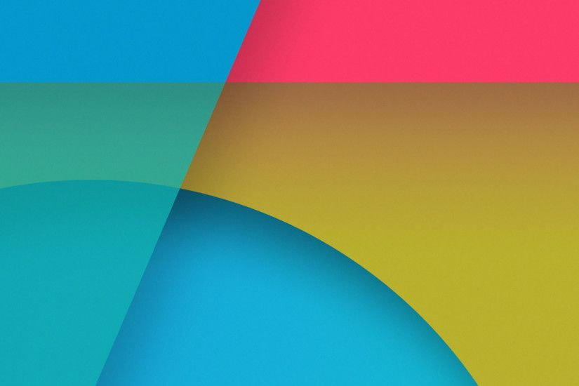 Google Material Design iPad Wallpaper 4