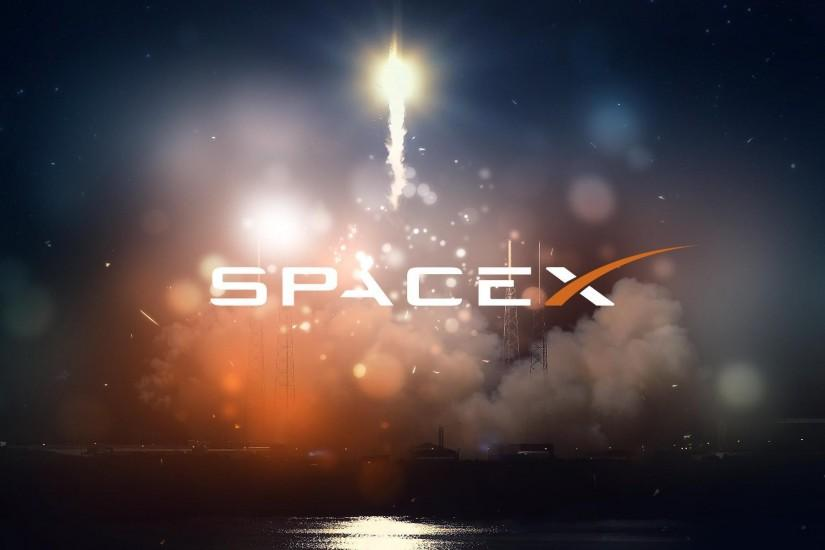 SpaceX Computer Wallpaper
