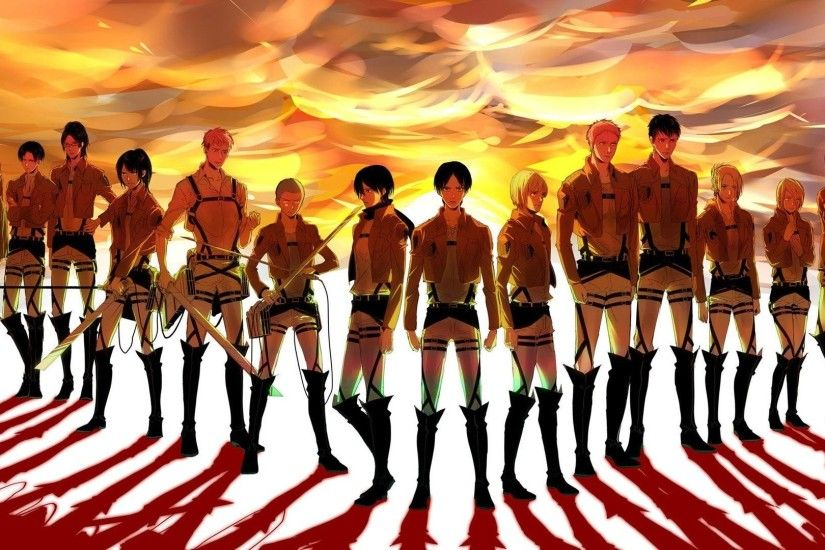 HD Wallpaper | Background ID:612515. 1920x1080 Anime Attack On Titan