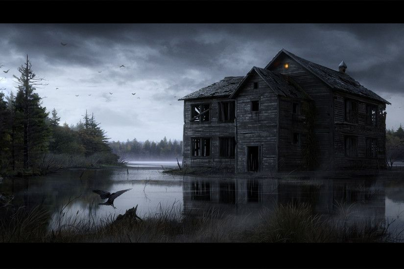Abandoned House by ryan99317 [1920x1080] ...