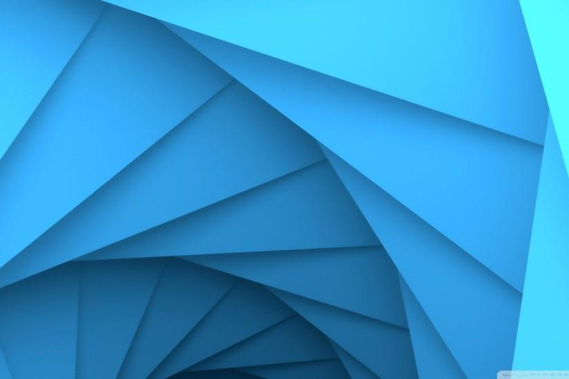 Geometry Dash v2 Blue HD desktop wallpaper : Widescreen .