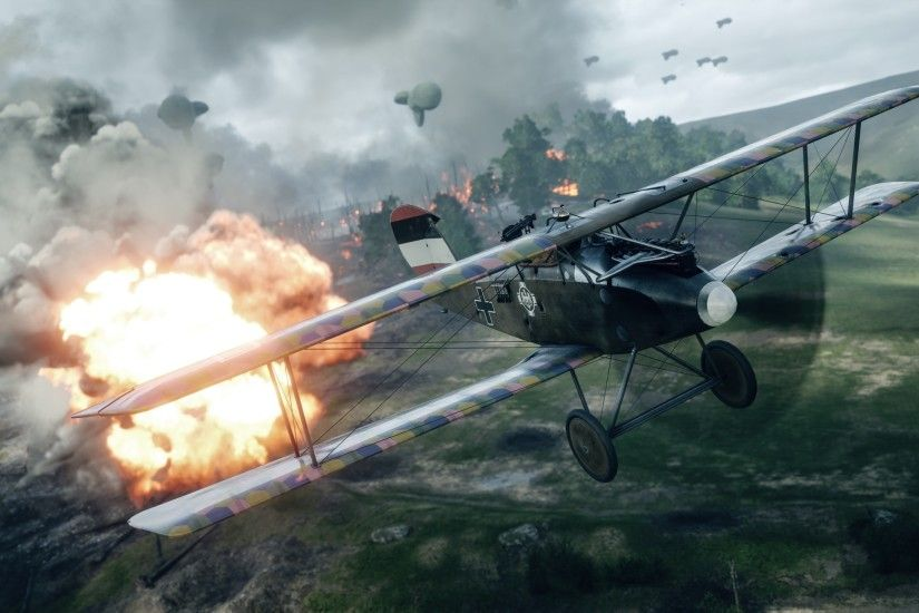 Battlefield 1 Fighter Plane