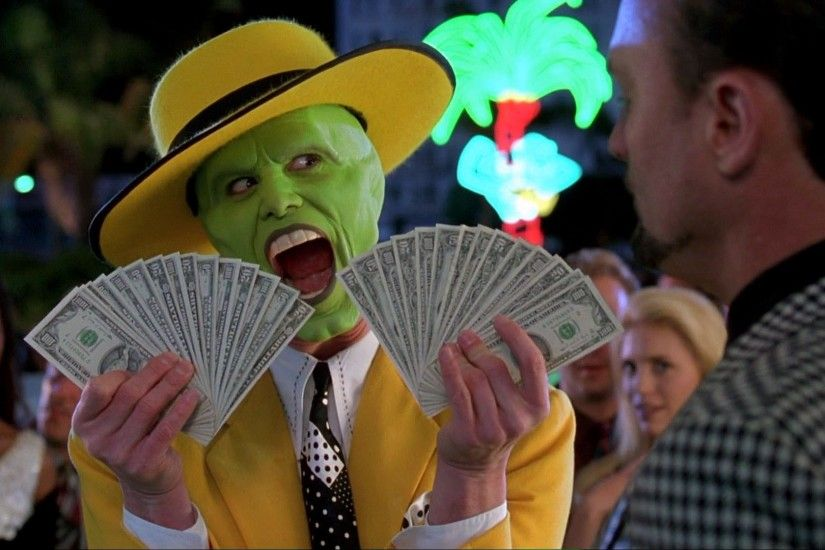 The Mask, Money, Film Stills, Jim Carrey Wallpapers HD / Desktop and Mobile  Backgrounds