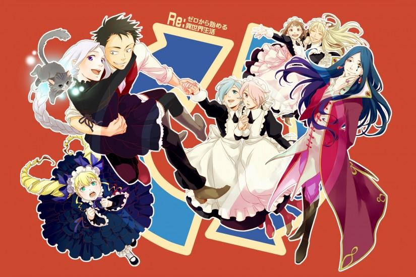free download re zero wallpaper 2204x1240 image